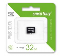 Micro SD Smart Buy/32GB карта памяти Class 4