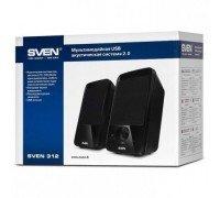 Акустическая система SVEN 312,2.0, мощ.2*2,5Вт./USB (RMS)