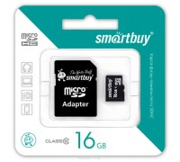 Micro SD Smart Buy/16GB карта памяти Class 10