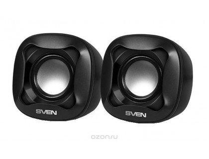 Акустическая система SVEN 170,2.0, мощ.2*2,5Вт. (черный)