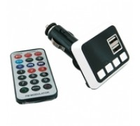 Авто FM-модулятор 860 microSD/SD/USB/AUX