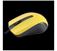 PERFEO/PF-353 Мышь оптическая проводная  1,8 м,черно-жёлтая