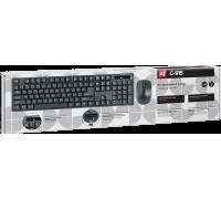 DEFENDER C-915 набор беспроводная мышь + клавиатура чёрные