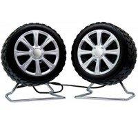 PERFEO Wheels 2x3 Вт USB Колонки