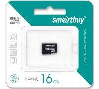 Micro SD Smart Buy/16GB карта памяти Class 4/без адаптера