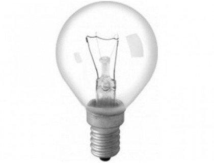 Эл. лампа 40/E14/ СФЕРА с прозрачной колбой