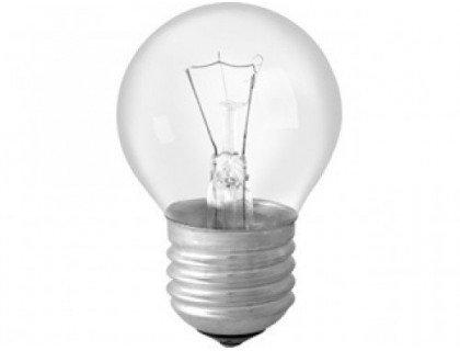 Camelion Эл. лампа 40/E27/ СФЕРА с прозрачной колбой