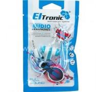 ELTRONIC Вкладыши канального типа 4433 бело-синие