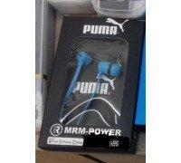 PUMA MR-A99 синие вкладыши канального типа