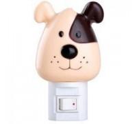 Ночник-собачка с выключателем CAMELION NL-004 (Лампочка Е14 не более 7 Ватт)