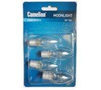Camelion Лампа DP-704 для ночников 220V 7W E14 4шт/кор