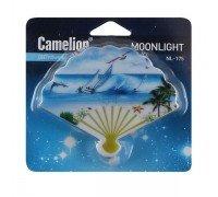 """Camelion NL-175 """"Веер"""" ночник с выключателем 220V светодиодный"""