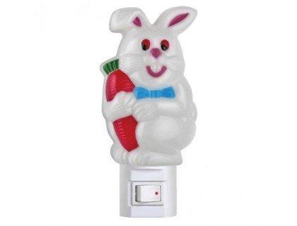 Ночник-зайчик с выключателем CAMELION NL-002 (Лампочка Е14 не более 7 Ватт)