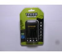 ТРОФИ З/У Т120+4R6 2300mAh для аккумуляторов АА, ААА